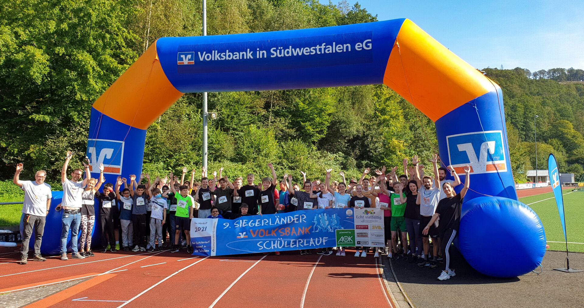 Volksbank-Schülerlauf bis zum 8. Oktober